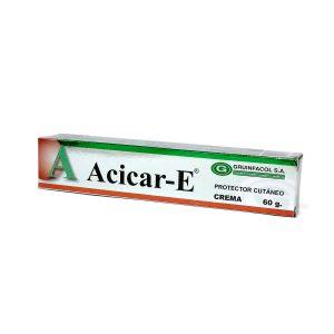 ACICAR-E CREMA (ÓXIDO DE ZINC) TUBO X 60 G
